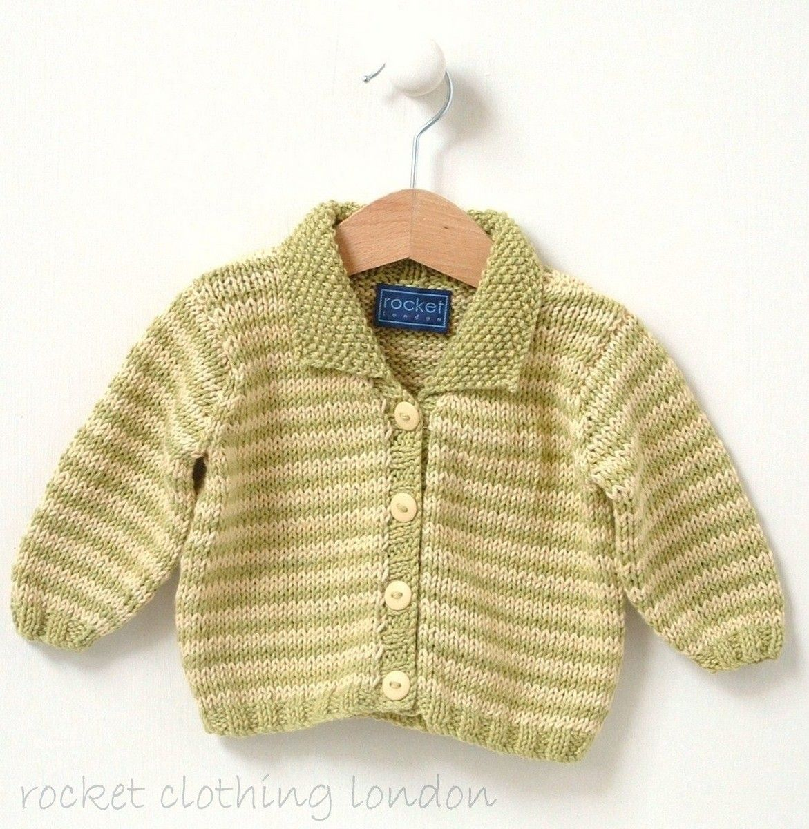 d216a2edc Baby Cardigan Mini Stripe by Linda Whaley - Digital Version ...