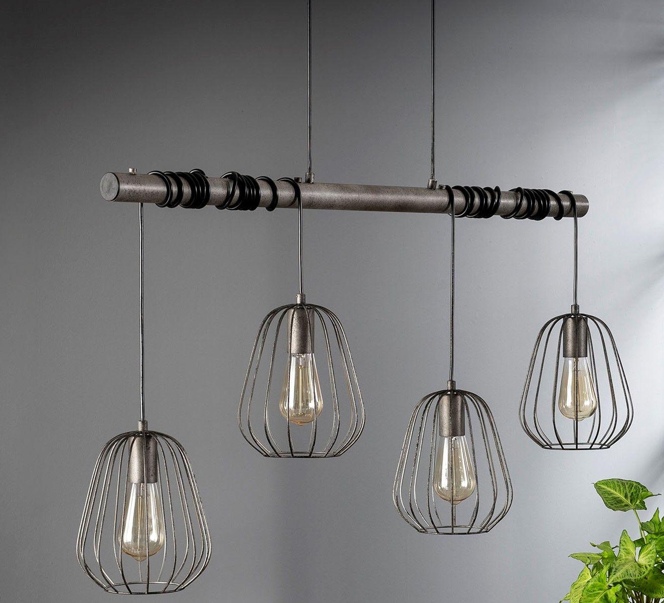 konstruktion zum aufhängen esszimmer lampen