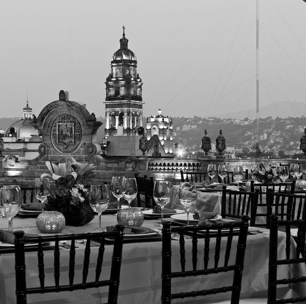 La Mejor Vista Catedral Morelia Mich Terraza Panoramica