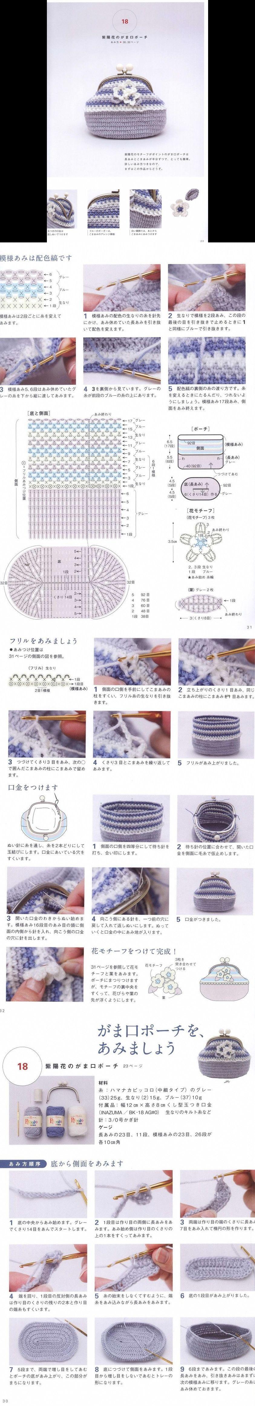 Pin von Nokkapood Tato auf Crochet bags pattern | Pinterest ...