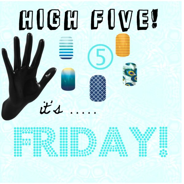 """""""high five friday"""" by katiefontejams on Polyvore"""