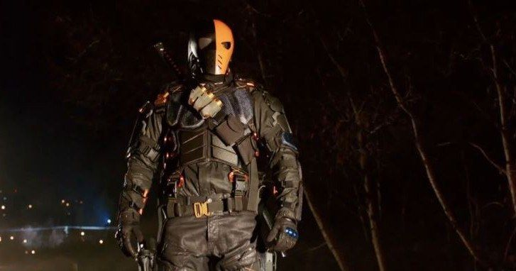 Deathstroke Vs. Oliver Queen in 'Arrow' Season 2 Promo -- Arrow faces off against one of his greatest enemies in next week's episode 'Deathstroke', airing Wednesday, April 2nd on The CW. -- http://www.tvweb.com/news/deathstroke-vs-oliver-queen-in-arrow-season-2-promo