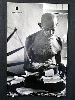 Think Different Mahatma Gandhi Persona Pinterest