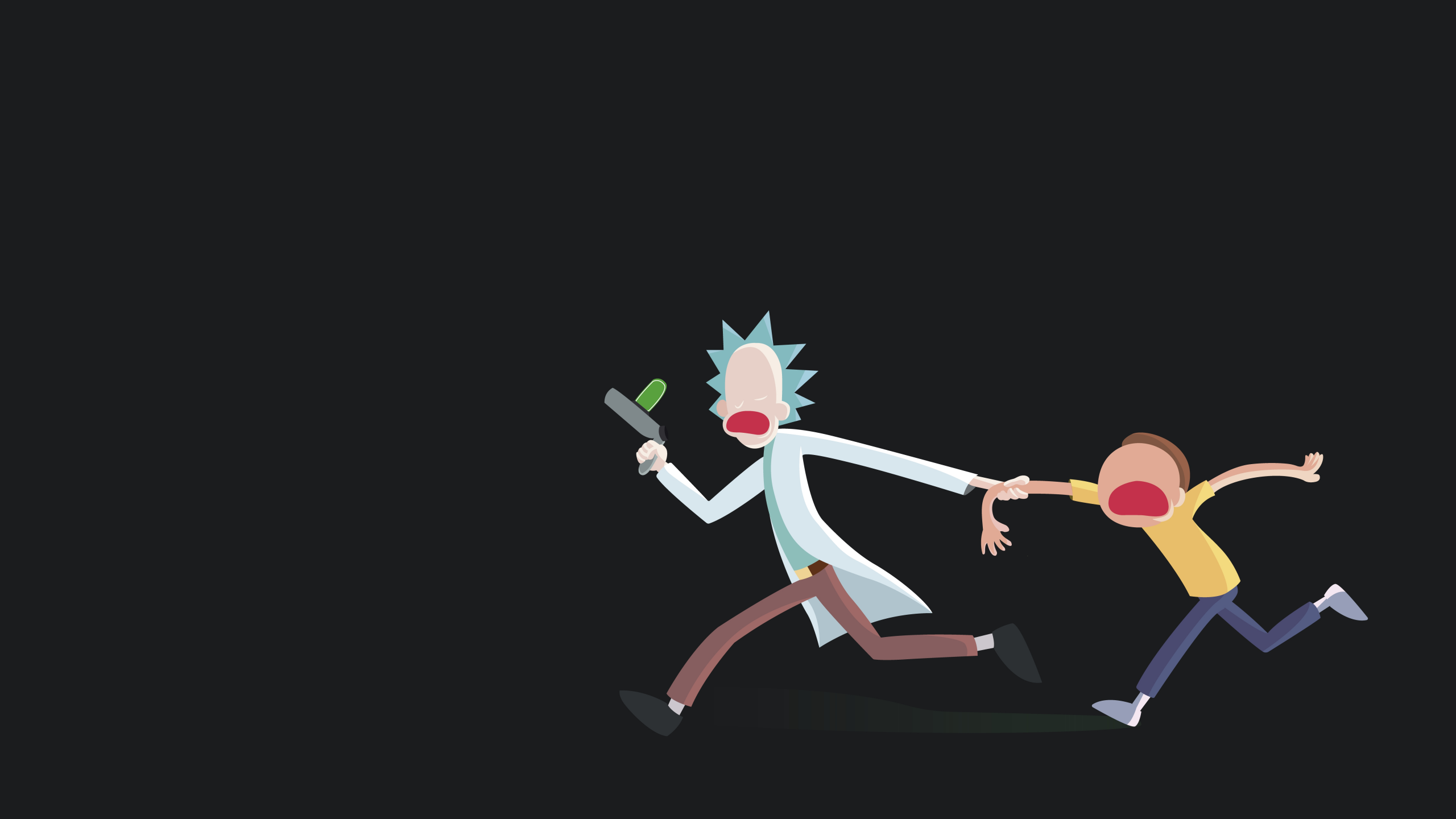 Rick And Morty Minimal Wallpapers Wallpaper Cave For Rick And Morty Wallpaper Minimalist Fondos De Pantalla