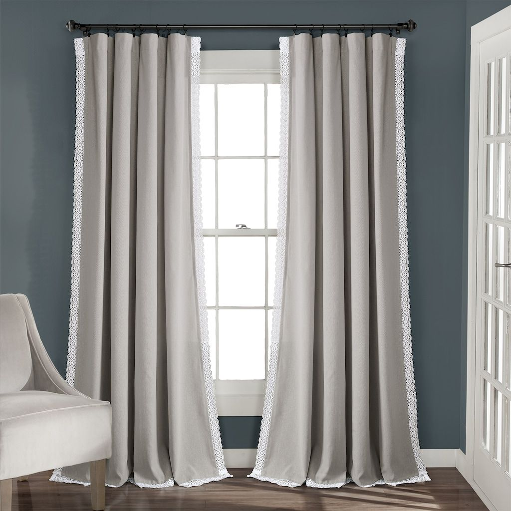 Lush Decor 2 Pack Rosalie Window Curtains Kohls In 2020 Living