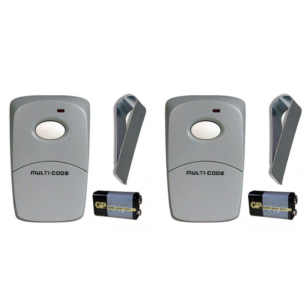 Multi Code 1 Button Remote Control Transmitter 3089 Remote Control Transmitter Remote