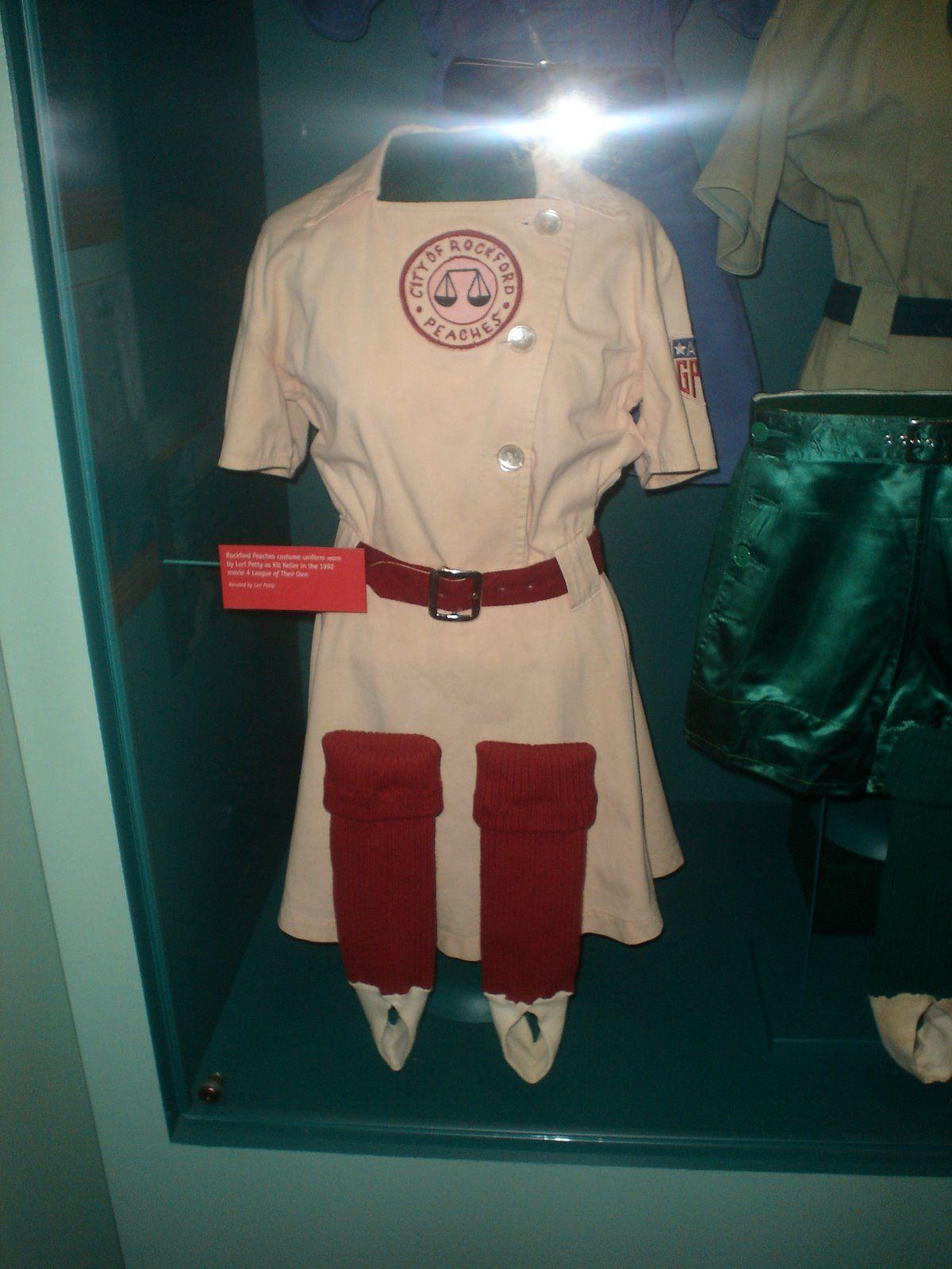 Rockford Peaches Peach Costume Baseball Girls