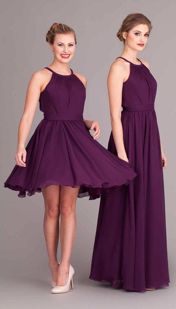 Kylee | Bridesmaid dress styles, Wedding and High neck bridesmaid ...