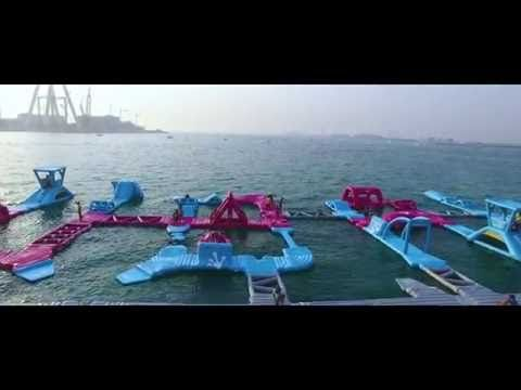 Wibit Sports Installs Dubaitag A Giant Waterpark At