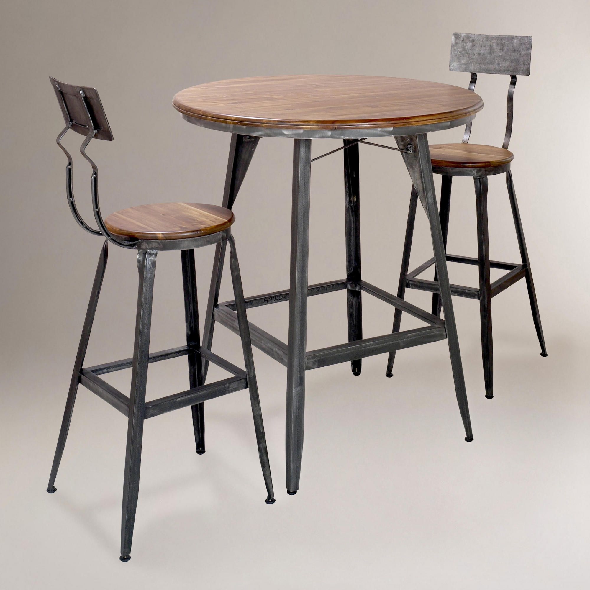 Dining tables dining room furniture furniture hudson pub for Dining chairs for less