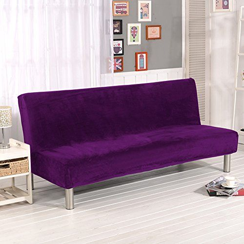 solid color plush folding armless sofa futon cover modern    https    solid color plush folding armless sofa futon cover modern    https      rh   pinterest