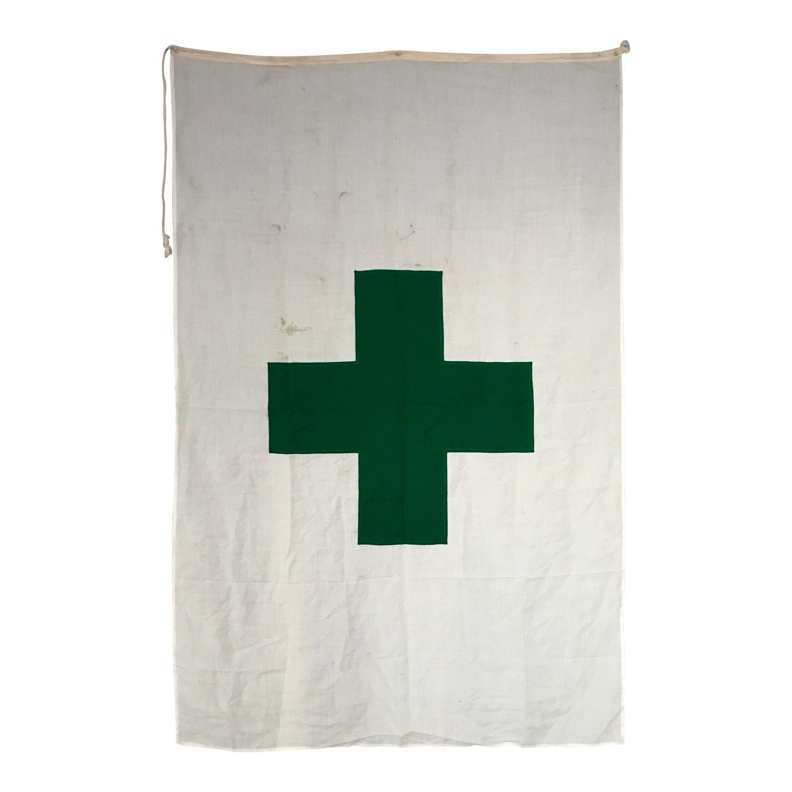 Vintage International Green Cross Flag Image 1 Of 4 In 2020 Cross Flag Flag Vintage