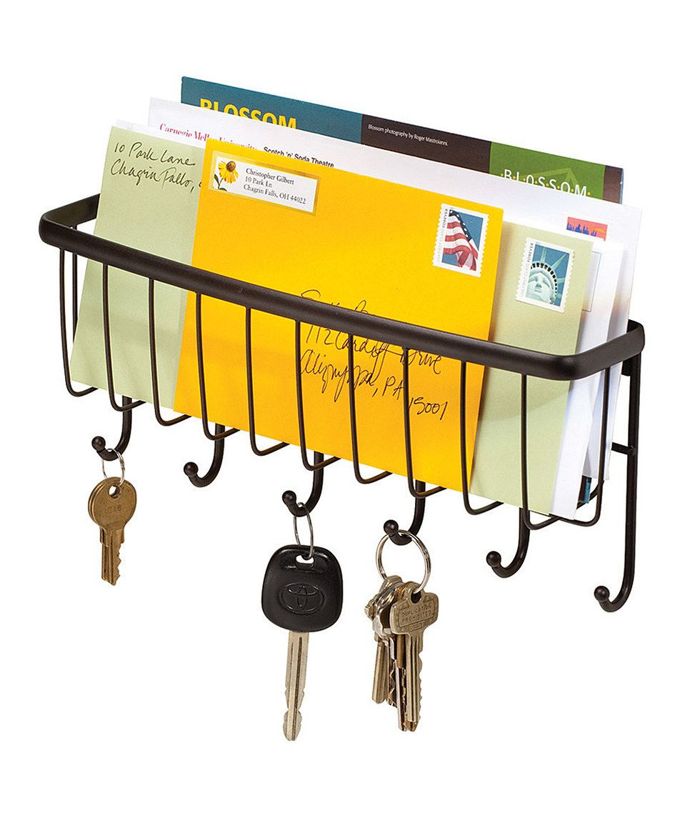 Another great find on #zulily! Axis Mail & Key Rack Wall Mount by ...