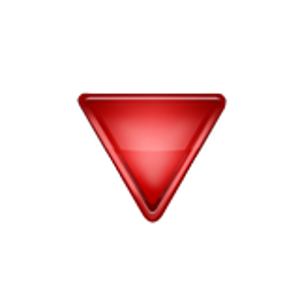 Down Pointing Red Triangle Iphone Emoji Iphone 8