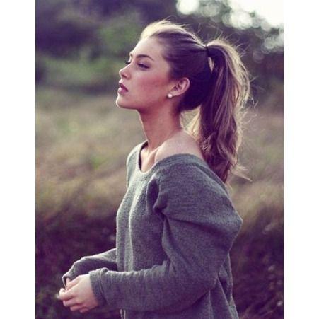 Coiffure cheveux attaches rapide hiver 2015 Coiffure