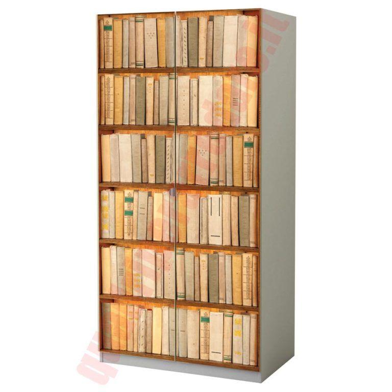 Adesivo Armadio Finta libreria nel 2019 Librerie