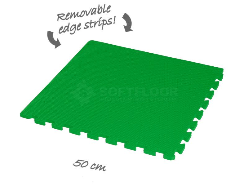 Classic 50cm Eva Foam Mat Chroma Green Soft Flooring Flooring Tile Floor
