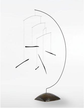 Alexander Calder, 'Ebony sticks in Semi-Circle' 1934.