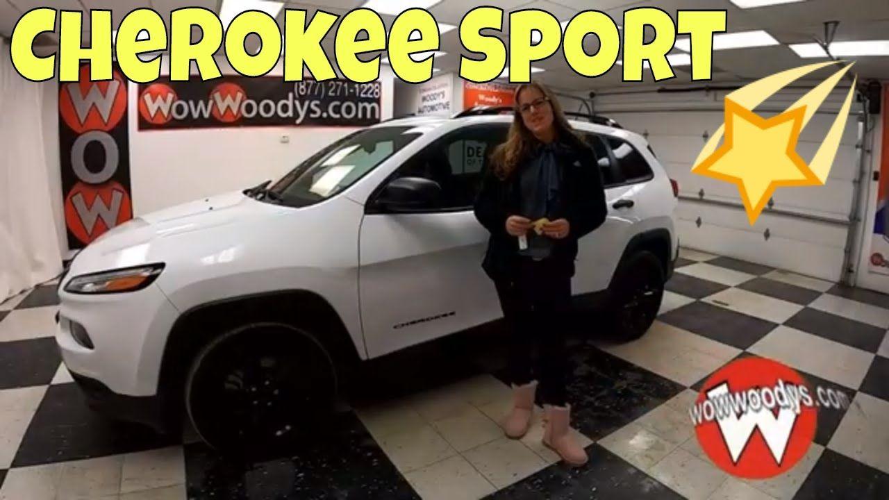 2017 Jeep Cherokee Sport Video Walkthrough at WowWoodys in