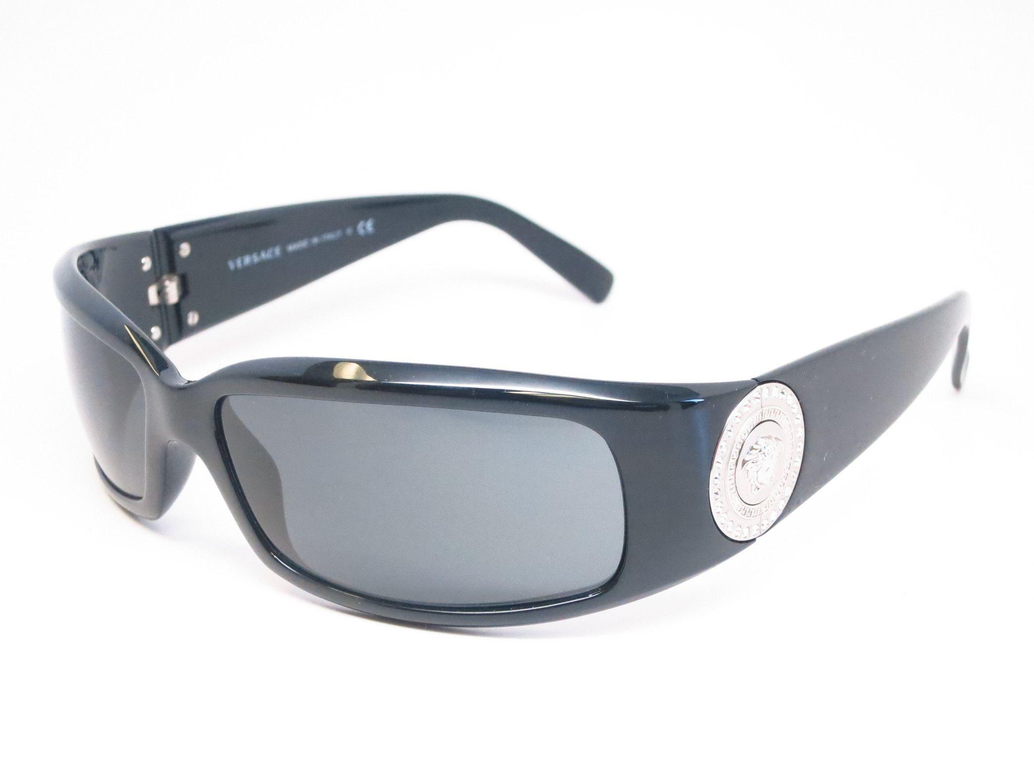 27716a46a0 Versace VE 4044-B Shiny Black GB1 87 Sunglasses
