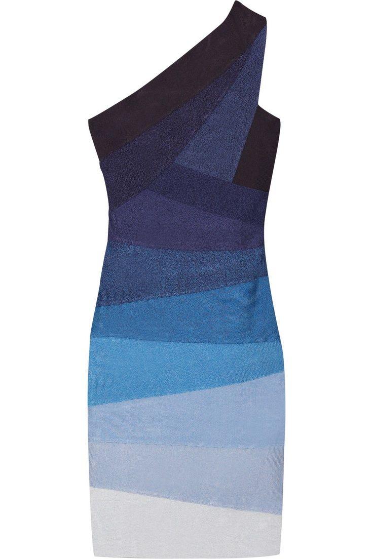 The Outnet - Herve Leger one shoulder bandage dress   Get The Look ...
