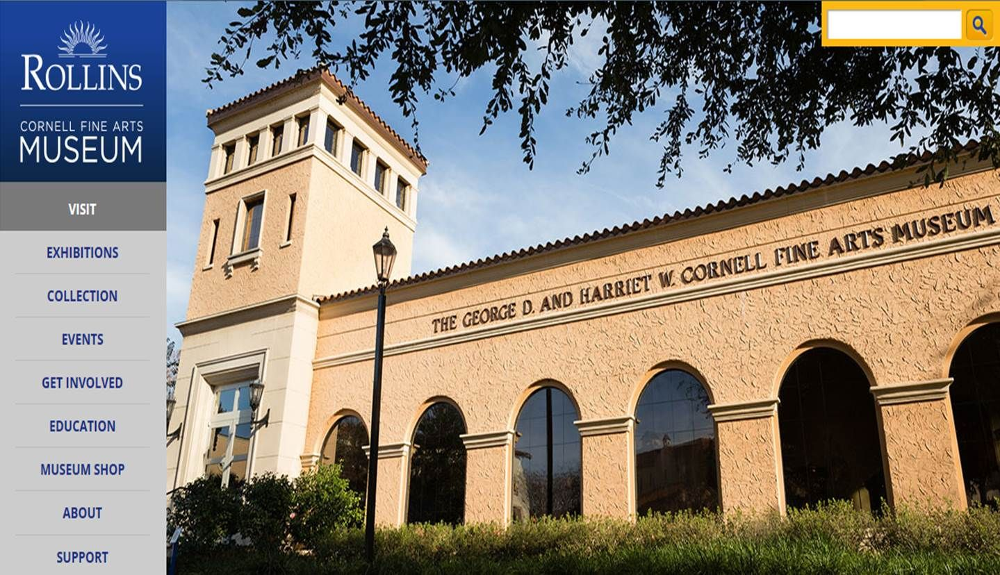Cornell Fine Arts Museum: One of the oldest and most distinguished collections in Florida, more than 5,000 objects from antiquity to the contemporary.