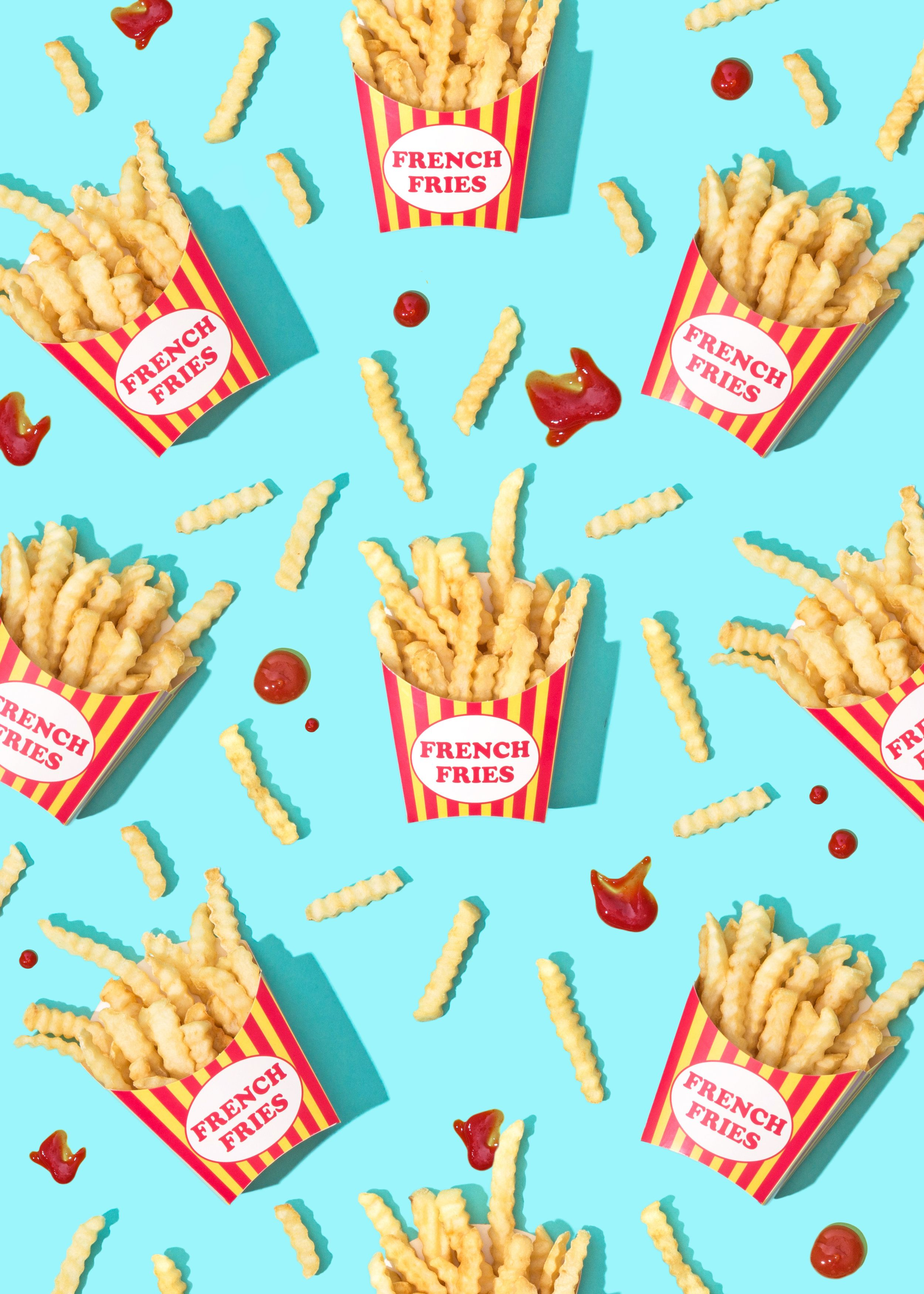 National French Fry Day // Wallpaper Download Food