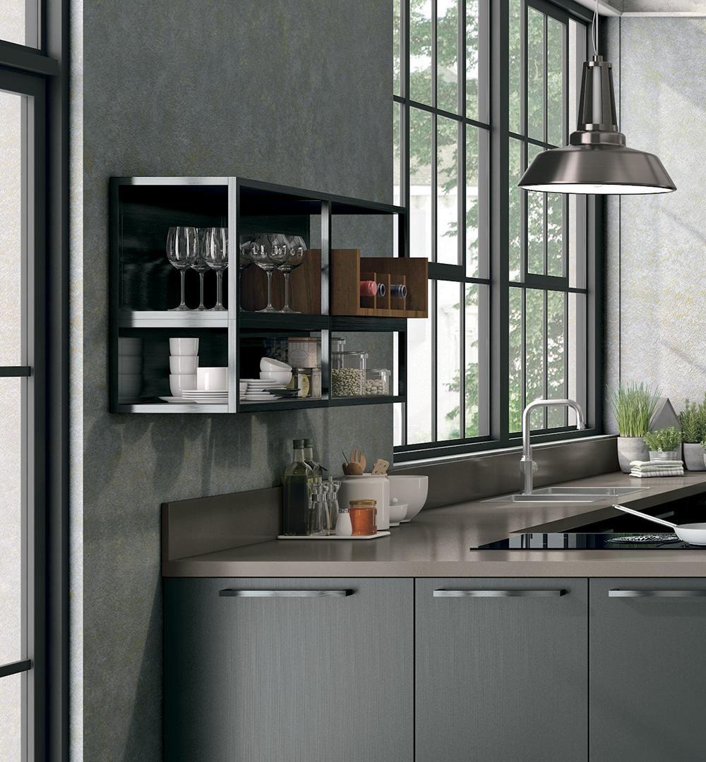 pensile/mensola Oltre Bridge - Cucine Lube | draft cucina | Pinterest