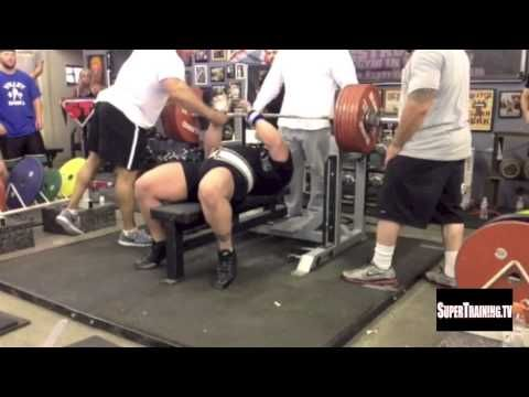 World Record Bench Press Raw 722 Lbs By Eric Spoto Lift Unlimited Lift Net Bench Press World Records Powerlifting
