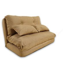 Stoffbezug Faltbare Couch Wohnzimmer Möbel Sofa Japanischen Fussboden Faule  Couch Bett Mit Kissen Klapp Liege Couch
