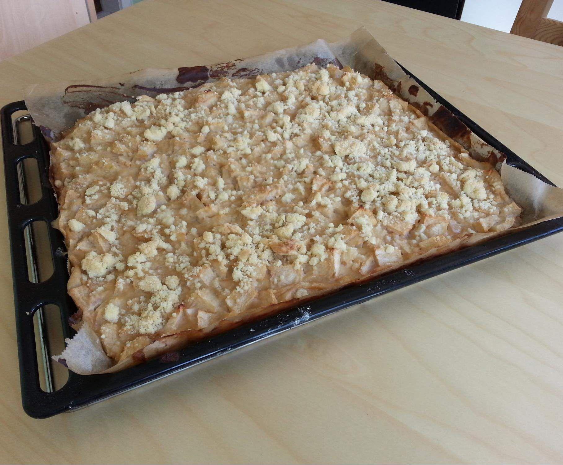 Apfelkuchen Mit Schmand Und Streuseln Rezept Kuchen Torten