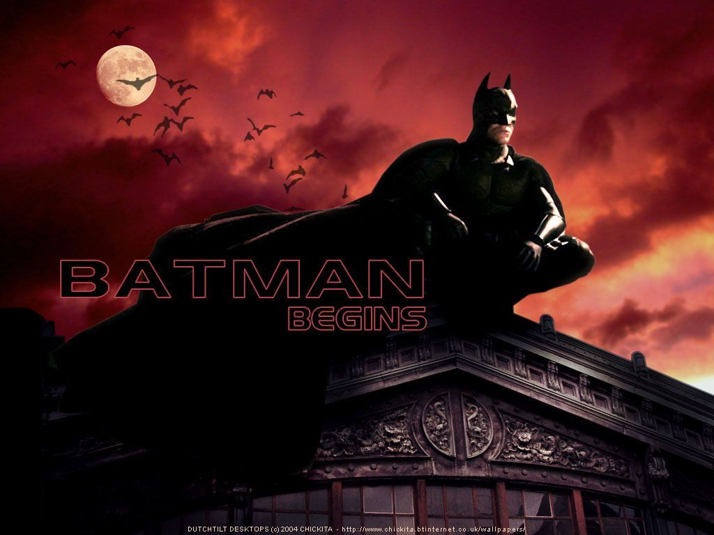 Batman Begins - Batman Wallpaper (555766) - Fanpop