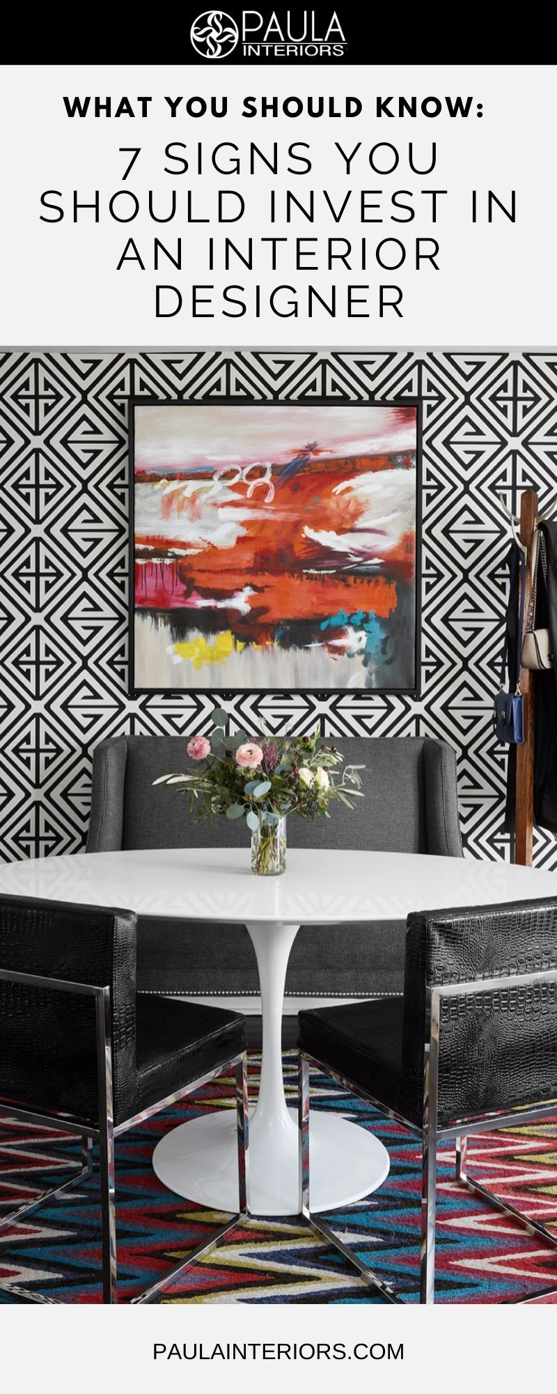 """Have you decided it's time to stop thinking about that much-needed interior design project and just do it? The question immediately arises, """"Do I need to invest in an interior designer?"""" Click below for the seven signs you need to do just that, rather than going it alone: #homedecor #interiordesign #interiordesigntips #decor"""