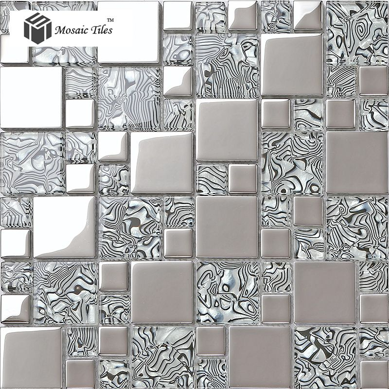 TST Crystal Glass Tile Zebra Design Innovation Bathroom Wall ...