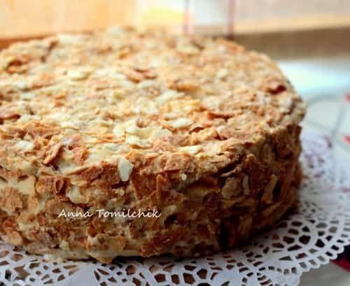 Как делать торт наполеон в домашних условиях рецепт пошагово