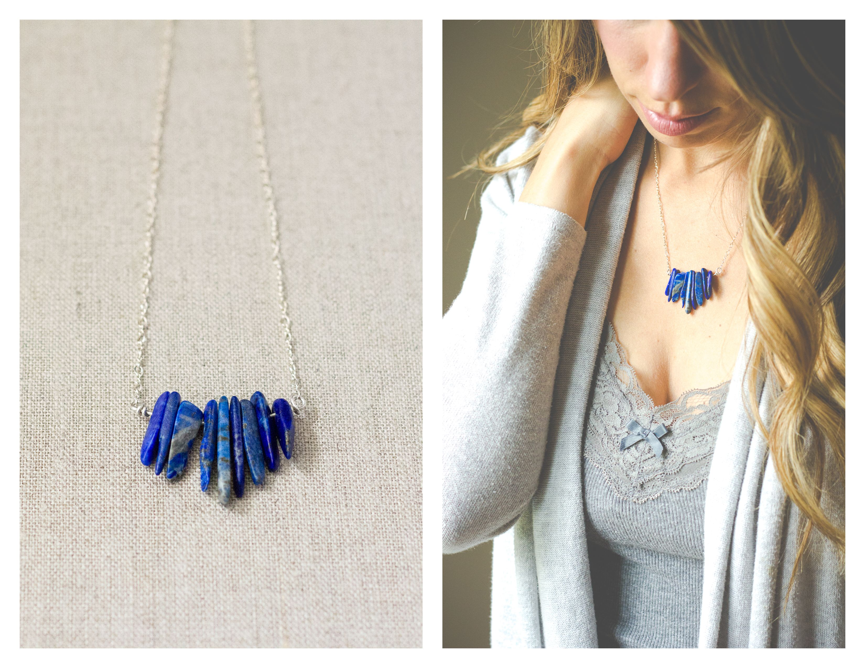 Small Lapis Bib Necklace by Wandering Root  https://www.etsy.com/listing/238608263/small-lapis-bib-necklace?ref=shop_home_active_5