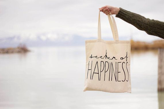 Seeker of Happiness  Canvas Tote Bag You door seekerofhappiness
