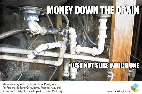 Funny Fail Money Down The Drain Humor Safety Fail And