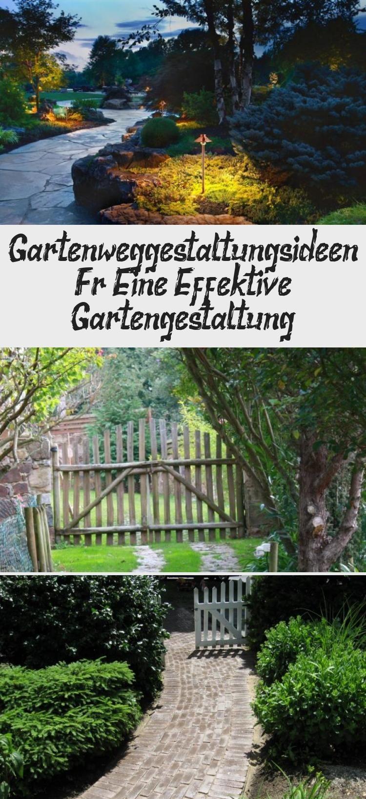 Gartenweg-Gestaltungsideen für eine effektive Gartengestaltung  #effektive #gartengestaltung #gartenweg #gestaltungsideen #Landschaftsgarten #landschaftsgarten