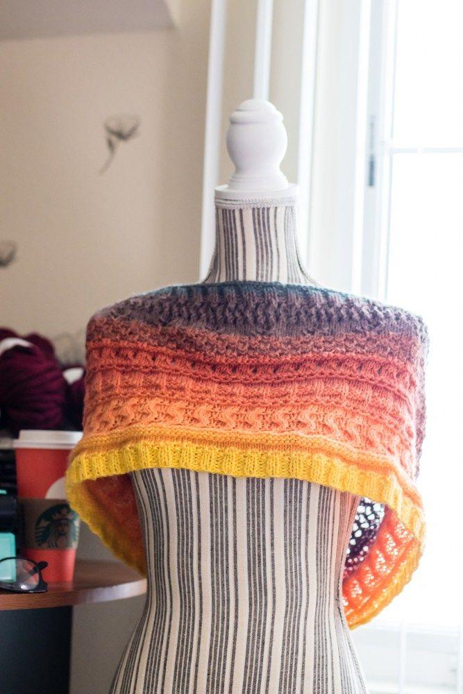 Knit Mandala Cowl FREE knitting pattern for the lion brand mandala ...