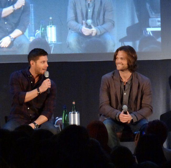 Supernatural JIB Convention: Jensen Ackles, Jared Padalecki, Misha Collins, Jim Beaver