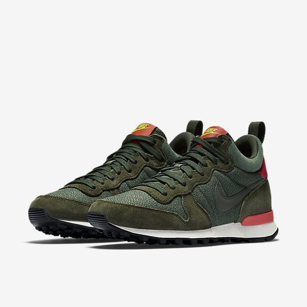 nike internationalist zwart heren