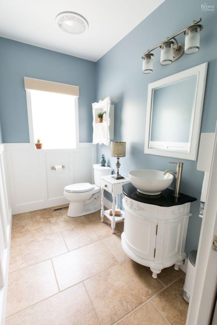 Guest Bathroom Renovation   DIY pocket door installation   How to ...
