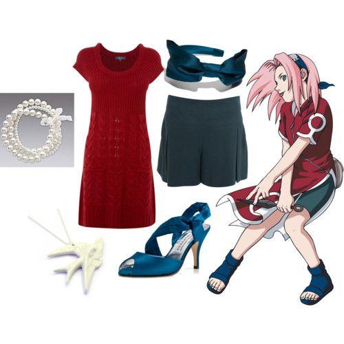 Modern Cosplay Sakura Haruno Naruto Shonen Jump | Casual Cosplay | Pinterest | Cosplay Casual ...