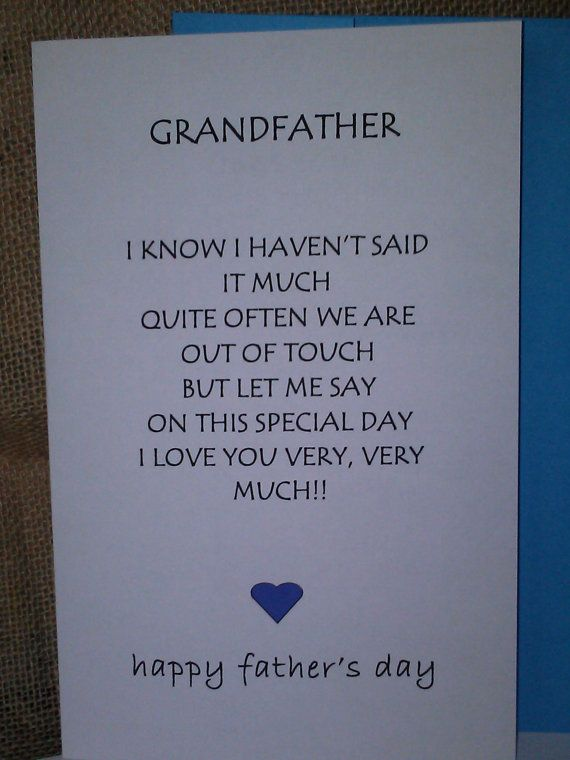 Fathers Day Cards Uncle Husband Granfather Gifts Men By