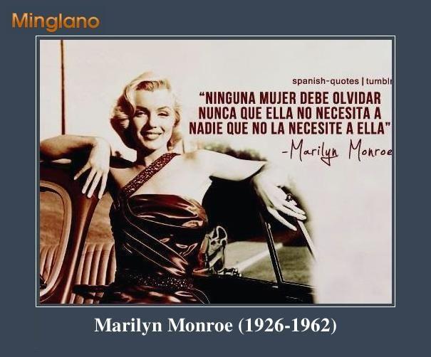 Frases Feministas De Marilyn Monroe Frases Feministas