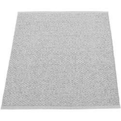 pappelina Svea Outdoor-Teppich – grau metallic / hellgrau 140 x 220cm Pappelina