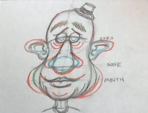 How to Draw Caricatures, Step by Step, Caricatures, People, FREE Online Drawing Tutorial, Added by washedupTV, October 8, 2012, 6:59:09 pm