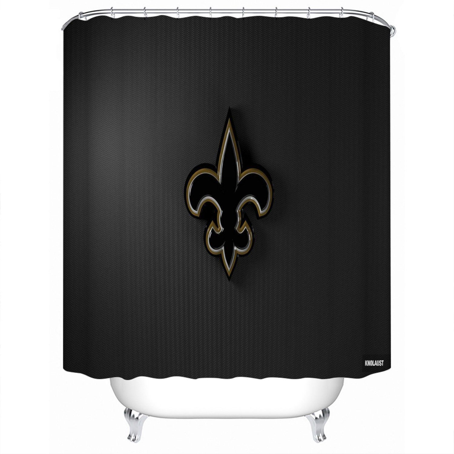 New Orleans Saints Shower Curtain For Bathroom In 2020 Shower