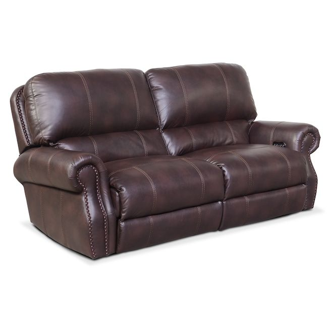 American Signature Furniture Com: Dartmouth 2-Piece Dual-Power Reclining Sofa
